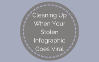 cleansing Up When Your Stolen Infographic Goes Viral