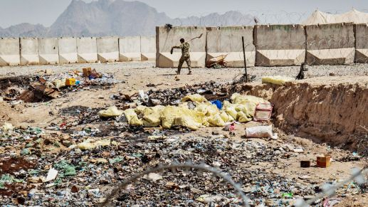 """Disturbing"" Waste In Afghanistan: How The U.S. Trashed Troops' Health And Squandered Millions"