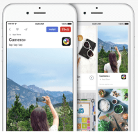 Pinterest provides App Pins and probably a 'buy' Button