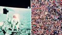 The Moon landing or Tahrir square: Which Represents The higher expertise Feat?