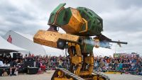 """crew usa"" Seeks $500k On Kickstarter For ultimate robotic fight With Japan"