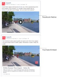 the difficulty With fb Native add high quality