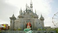 Banksy's Dismaland wouldn't Be complete with no industrial Of Its Very personal
