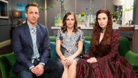 Carice Van Houten Attends Baby Shower As Melisandre From Game Of Thrones
