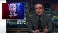 "John Oliver at last Takes On Donald Trump, ""the usa's back Mole"""