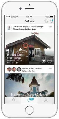travel Discovery App Spot desires To customize suggestions