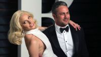 woman Gaga Takes Polar Plunge In Chicago With Taylor Kinney For unique Olympics