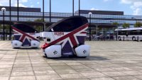 Day One for British self-driving Pod Zero