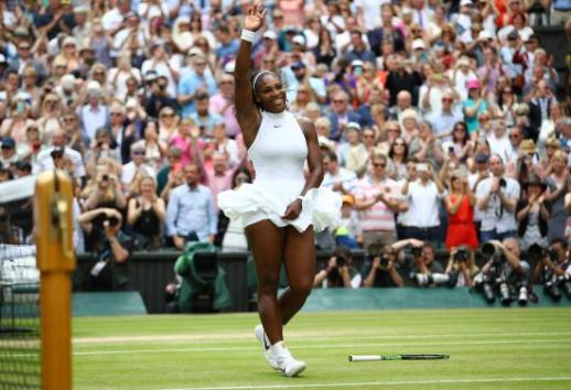Serena Williams Beats Angelique Kerber in Wimbledon Final for 22nd Slam Title