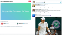 Twitter uses Wimbledon to test live sports streams minus the sports