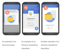 """Google to Lower Rankings for Sites with Invasive Popups, Removes """"Mobile-Friendly"""" Label"""