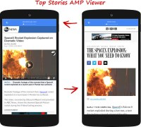 Google's AMP Viewer: the Tinder UX for content?