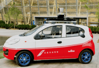 Baidu unveils its own all-electric self-driving car