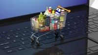 Step by step, physical grocery stores are becoming back ends for online shopping