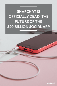 Snapchat Is Officially DEAD! The Future of the $20 Billion Social App