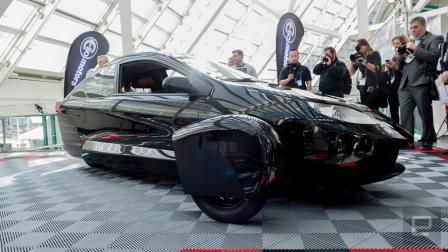 Elio unveils its latest 84 mpg three-wheeled prototype