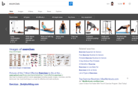 Bing, Google Up Their Fitness Game