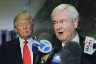 Donald Trump Is Dropping 'Drain the Swamp,' Newt Gingrich Says