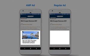 Ads Optimized By Google AMP Load Six Times Faster
