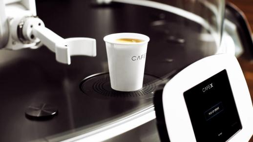 At San Francisco's New Cafe X, A Robot Makes Your Coffee Just The Way You Like It