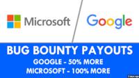 Google, Microsoft Reward Researchers Up To $30,000 With 'Bug Bounty' Program