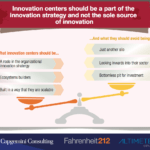 How corporate innovation centers make companies competitive