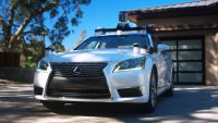 Toyota research division unveils first autonomous test vehicle