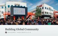 Zuckerberg's Global Ambition
