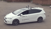 Yandex unveils self-driving car concept for taxi service