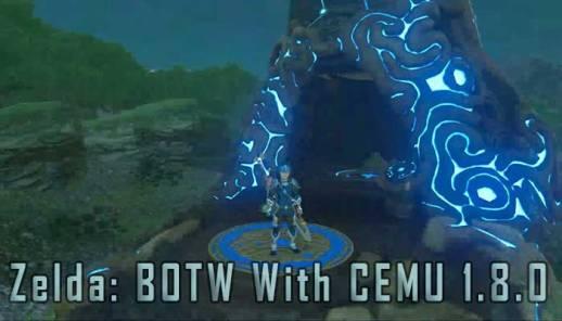 Zelda Breath Of The Wild Runs Great On PC With Latest CEMU Version 1.8.0 Update