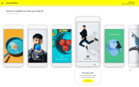 Snapchat's self-serve ad creation tool converts horizontal videos, websites into vertical video ads
