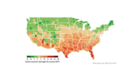 This Map Shows Which Parts Of The U.S. Will Suffer Most From Climate Change