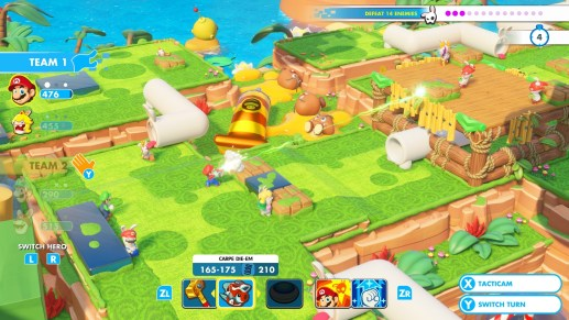 Mario + Rabbids Kingdom Battle – Co-op Challenges and Mischievous Boos