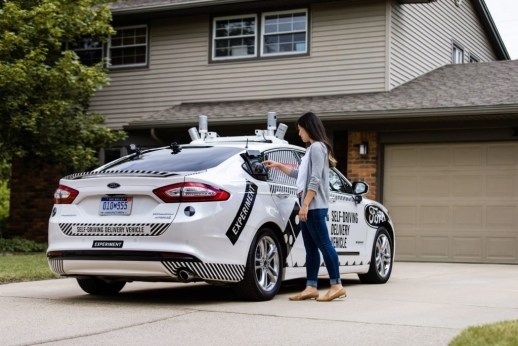 Domino's and Ford to test self-driving pizza delivery service