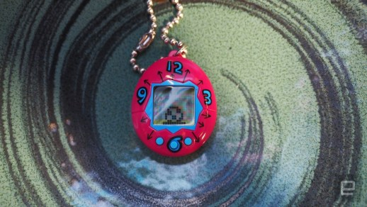 The 20th anniversary Tamagotchi is smaller but still easy to kill