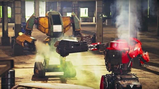 This week's 'live' giant robot battle was fake   DeviceDaily.com