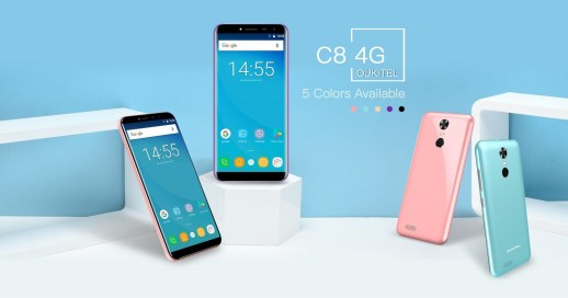 OUKITEL C8 4G Announced to Bring Better Connectivity Than the Original C8 | DeviceDaily.com
