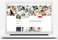 Pinterest redesigns business profile pages with monthly viewer counts