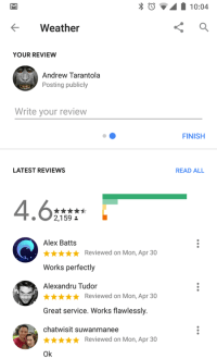 Google adds user reviews to help you decide on Assistant apps