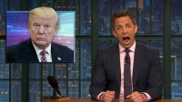 Seth Meyers has a radical new way to do breaking news on his show