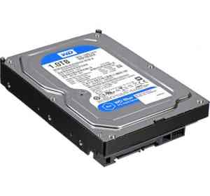 "WD 1TB Caviar Blue 3.5"" SATA Desktop Internal Hard Drive"