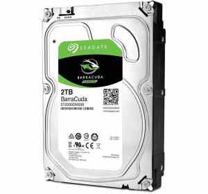 "Seagate 2TB Barracuda 3.5"" Desktop Hard Drive"