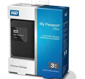 WD My Passport Ultra 3TB USB 3.0 Hard Drive