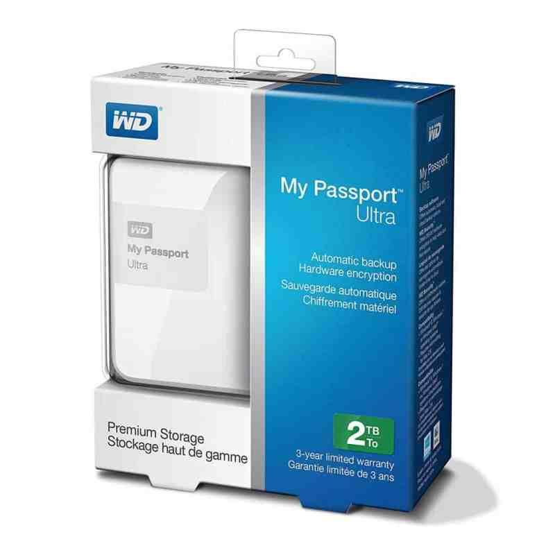 WD My Passport Ultra 2TB USB 3.0 Hard Drive