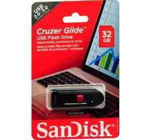 Sandisk 32GB Cruzer Glide USB Flash Disk