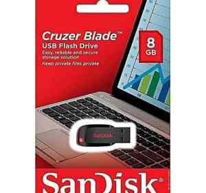 Sandisk 8GB Cruzer Blade USB Flash Disk