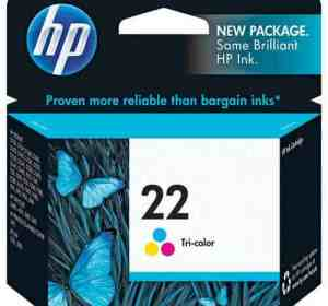 HP 22 Tri-Color Print Cartridge