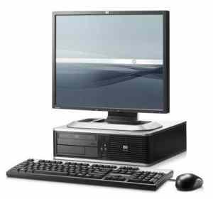 HP Compaq Refurbished Desktop Core 2 Duo