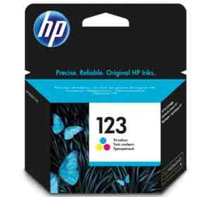 HP 123 TriColour Ink Cartridge
