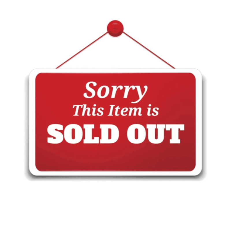 Temporary Sold Out